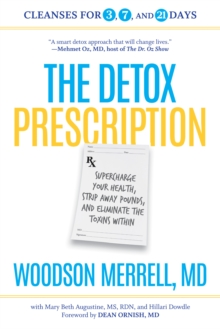 The Detox Prescription, Paperback Book