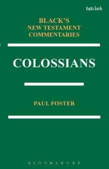 Colossians BNTC, Paperback Book