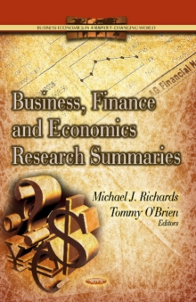 Business, Finance & Economics Research Summaries, Hardback Book