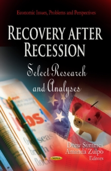 Recovery After Recession : Select Research & Analyses, Hardback Book