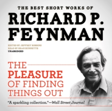 The Pleasure of Finding Things Out, eAudiobook MP3 eaudioBook