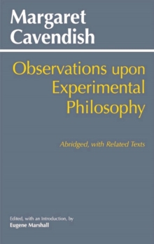 Observations Upon Experimental Philosophy : Abridged, with Related Texts, Paperback / softback Book