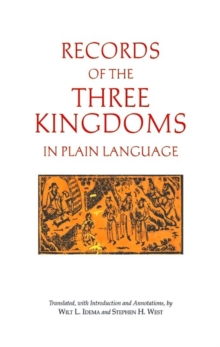 Records of the Three Kingdoms in Plain Language, Hardback Book