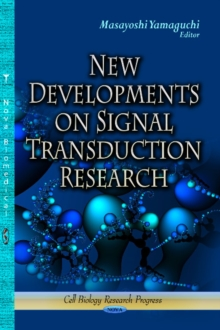 New Developments on Signal Transduction Research, Hardback Book
