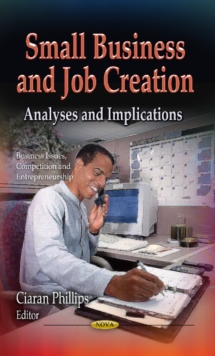 Small Business & Job Creation : Analyses & Implications, Hardback Book