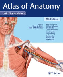 Atlas of Anatomy, 3e Latin, Hardback Book