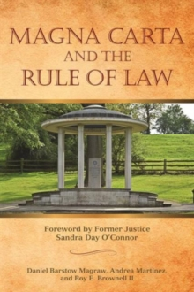 Magna Carta and the Rule of Law, Paperback Book