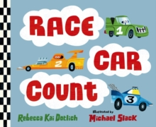 Race Car Count, Board book Book