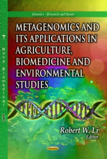 Metagenomics & Its Applications in Agriculture, Biomedicine & Environmental Studies, Paperback Book