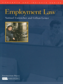 Employment Law (Concepts and Insights Series), EPUB eBook