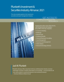 Plunkett's Investment & Securities Industry Almanac 2021, Paperback / softback Book