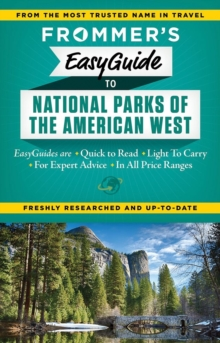 Frommer's EasyGuide to National Parks of the American West, Paperback / softback Book