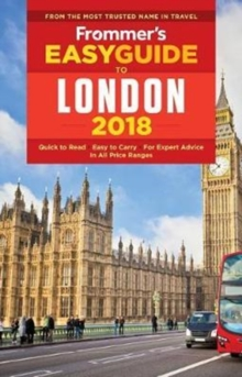 Frommer's EasyGuide to London 2018, Paperback Book