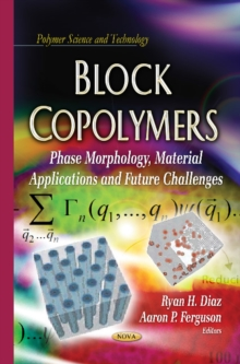 Block Copolymers : Phase Morphology, Material Applications & Future Challenges, Hardback Book