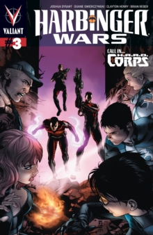 Harbinger Wars Issue 3, EPUB eBook