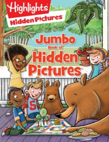 Jumbo Book of Hidden Pictures, Paperback Book