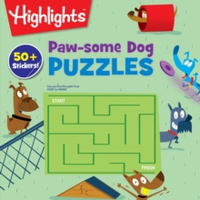 Paw-some Dog Puzzles, Paperback Book