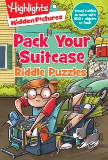 Pack Your Suitcase Riddle Puzzles, Paperback Book
