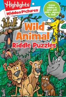 Wild Animal Riddle Puzzles, Paperback Book