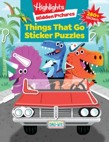 Things That Go Puzzles, Paperback Book