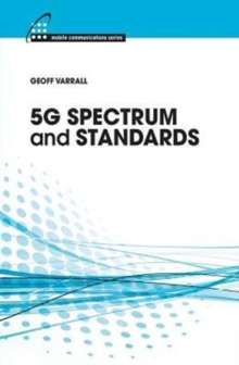 5G Spectrum and Standards, Hardback Book