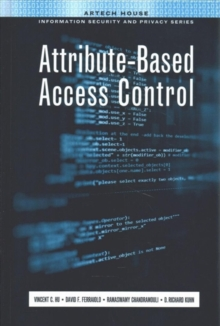 Attribute-Based Access Control, Hardback Book