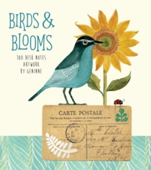 Birds & Blooms  180 Desk Notes : Artwork by Geninne, Novelty book Book