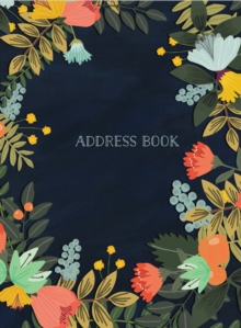 Address Book - Modern Floral Large, Diary Book