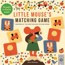 Little Mouse's Matching Game, Postcard book or pack Book