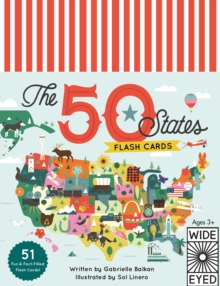 The 50 States - Flashcards, Postcard book or pack Book