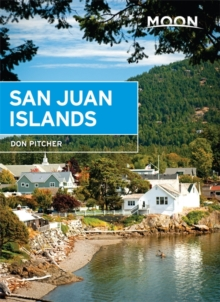 Moon San Juan Islands, 5th Edition, Paperback Book
