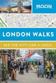 Moon London Walks, Paperback / softback Book