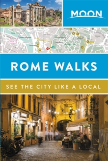 Moon Rome Walks, Paperback / softback Book