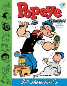 Popeye Classics Weed Shortage And More!, Hardback Book