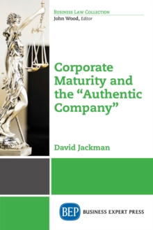 "Corporate Maturity and the ""Authentic Company"", EPUB eBook"
