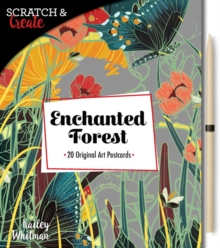Scratch & Create: Enchanted Forest : 20 original art postcards, Paperback Book