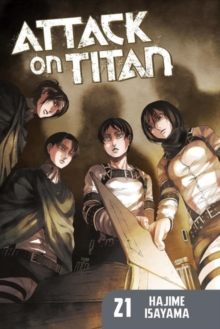 Attack On Titan 21, Paperback Book
