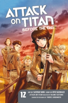 Attack On Titan: Before The Fall 12, Paperback / softback Book