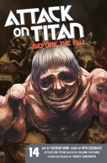 Attack On Titan: Before The Fall 14, Paperback / softback Book
