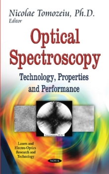 Optical Spectroscopy : Technology, Properties and Performance, Hardback Book