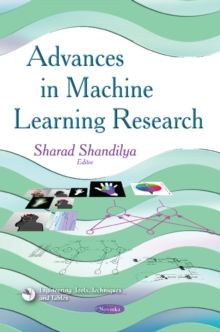 Advances in Machine Learning Research, Paperback Book
