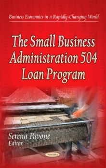 Small Business Administration 504 Loan Program, Paperback Book