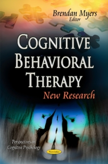 Cognitive Behavioral Therapy : New Research, Paperback Book