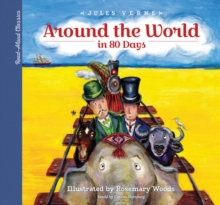 Read-Aloud Classics: Around the World in 80 Days, Hardback Book