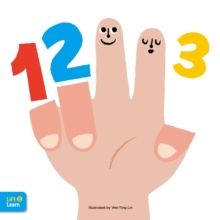 123 Lift & Learn : Interactive flaps reveal basic concepts for toddlers, Board book Book