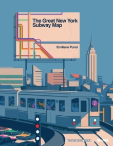 The Great New York Subway Map, Hardback Book