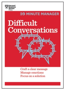 Difficult Conversations (HBR 20-Minute Manager Series), EPUB eBook
