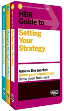 HBR Guides to Building Your Strategic Skills Collection (3 Books), Book Book