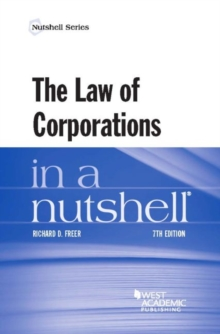The Law of Corporations in a Nutshell, Paperback Book