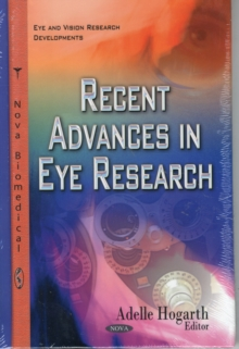 Recent Advances in Eye Research, Hardback Book